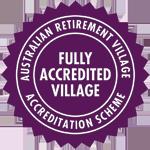 Australian Retirement Village - Accreditation Seal